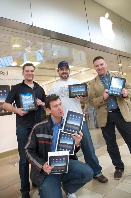 iPad crew