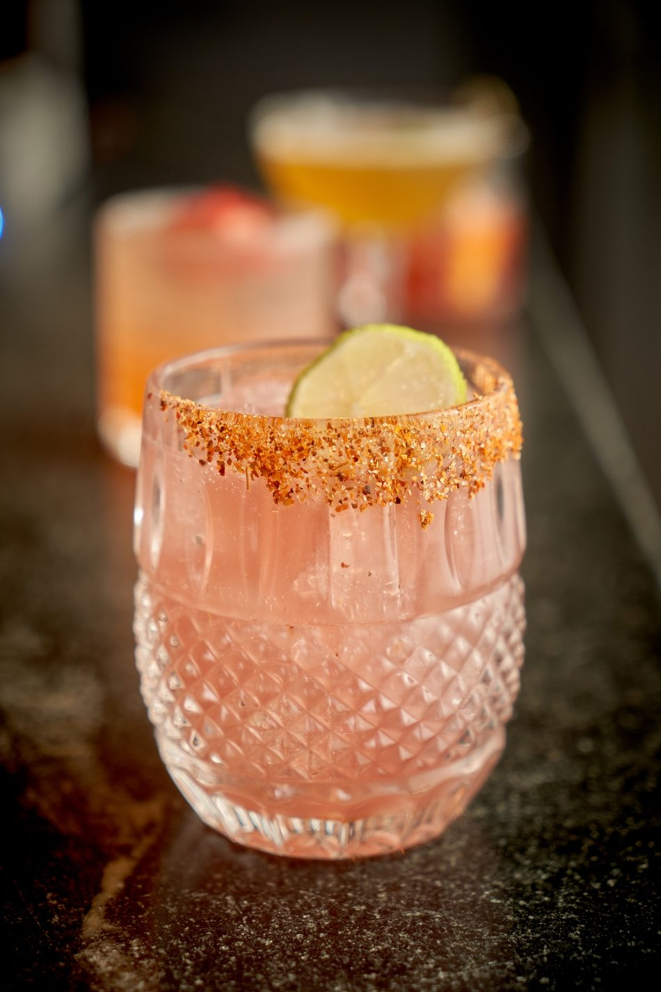 Close up view of a drink from Close.co photographed by Ian McCausland
