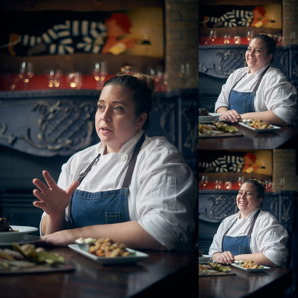 Chef Melissa Makarenko of Peasant Cookery photographed by Winnipeg photographer Ian McCausland