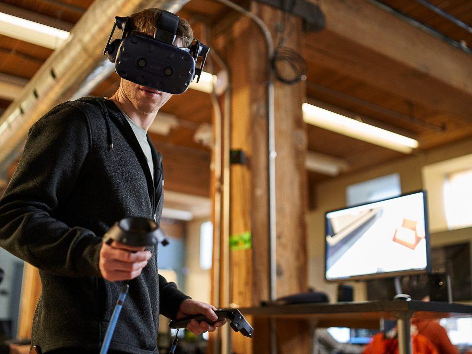 VR headset developers, part of New Media Manitoba