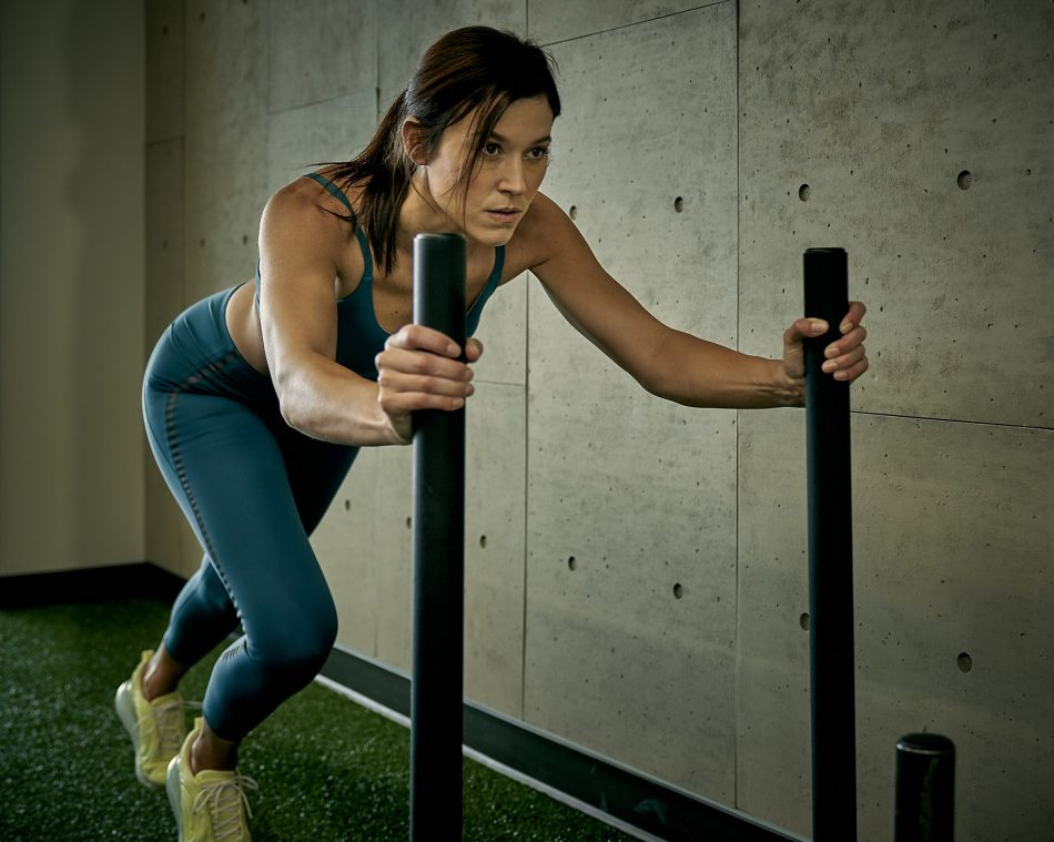 Determined workout photo art Altea Active